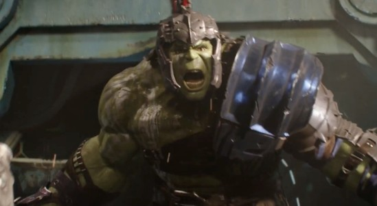 Thor trailer hulk fight