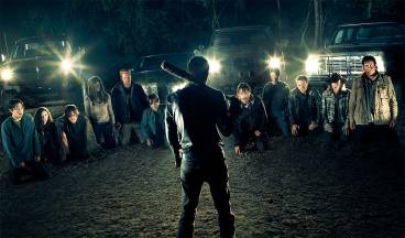 walking dead negan group